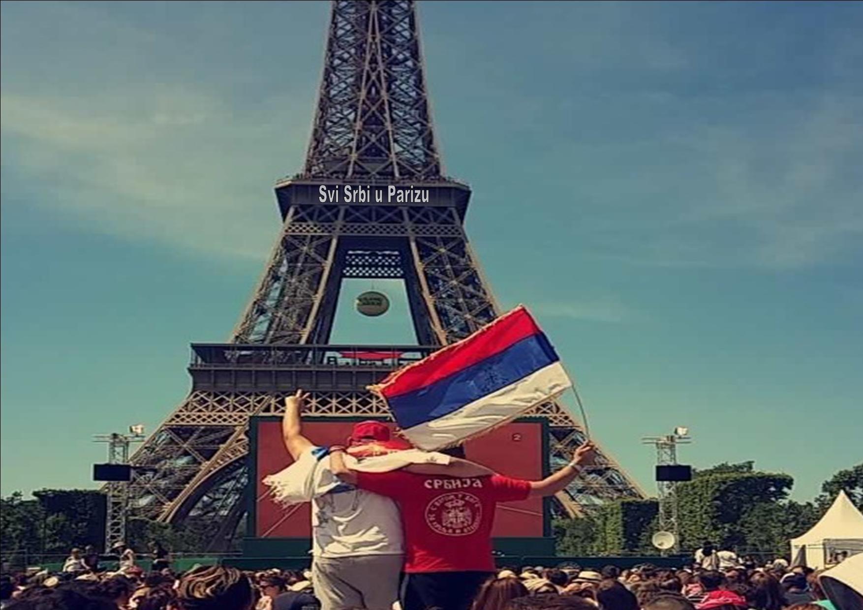 svi srbi u parizu