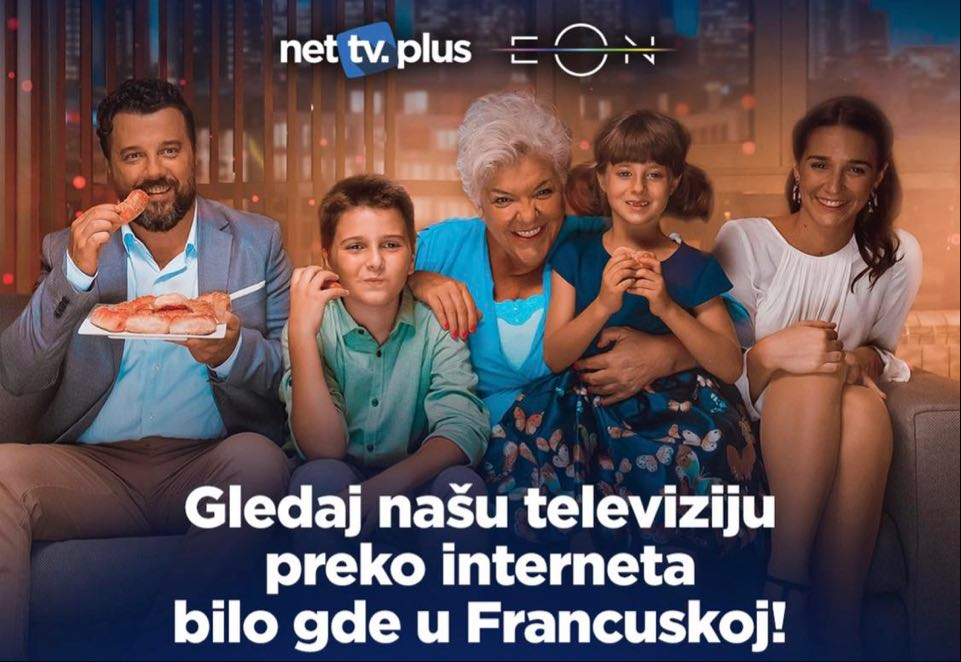 Net TV PLUS – svi Ex-Yu kanali na jednom mestu