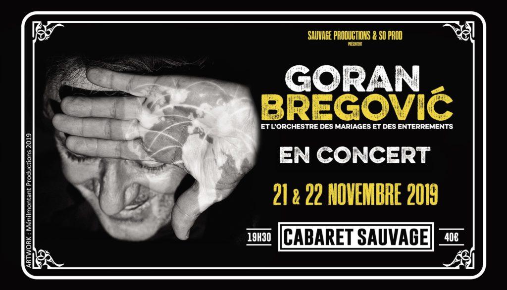 Pariz : Veliko interesovanje za koncert Gorana Bragovića. Traži se karta više