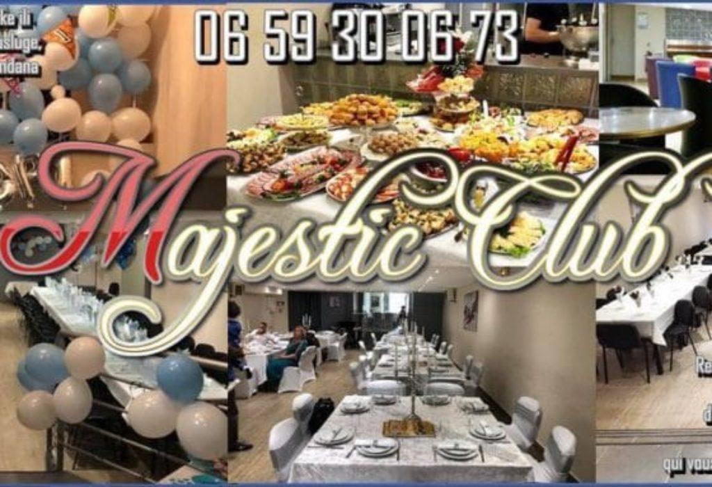 MAJESTIC CLUB – sala za sve vrste veselja i proslava