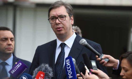 """Vucic : """"Les oreilles serbes sensibles voudraient toujours entendre ce qui leur plaît…"""""""