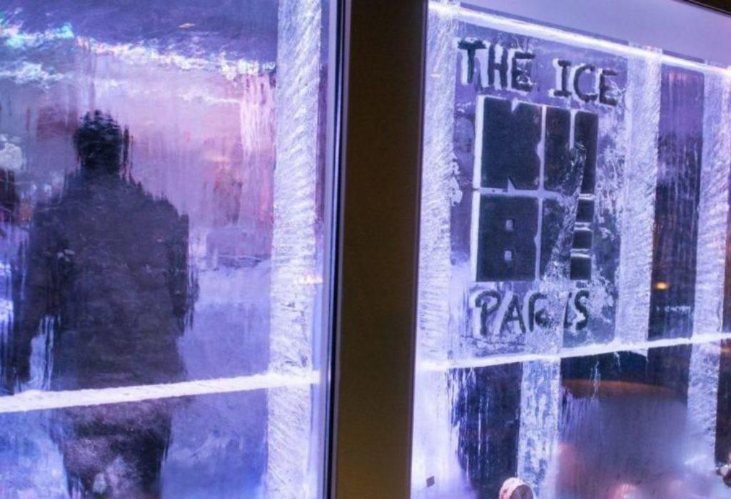 (VIDEO)Pariz : jedinstveni «Ledeni kafić»