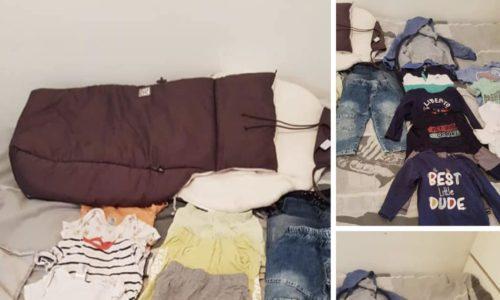 Srbin iz Pariza poklanja dečju garderobu