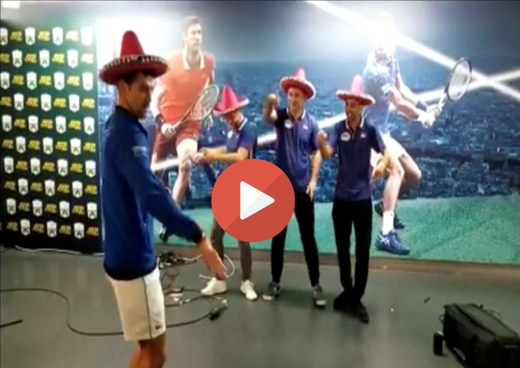 (VIDEO)Pariski Srbikosi i Đoković napravili šou za pamćenje