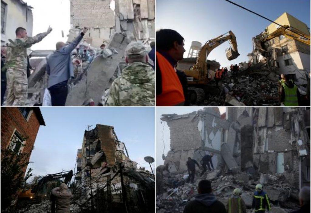 (FOTO)Veliki zemljotres u Albaniji. Srbija prva poslala pomoć