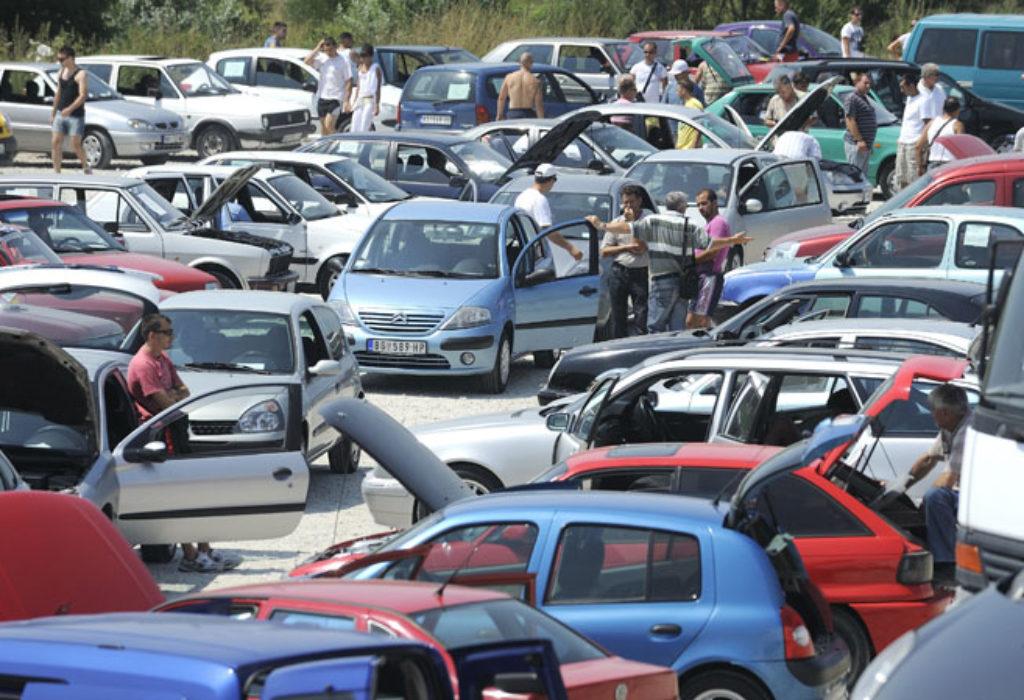 La Serbie est la décharge des voitures d'occasion