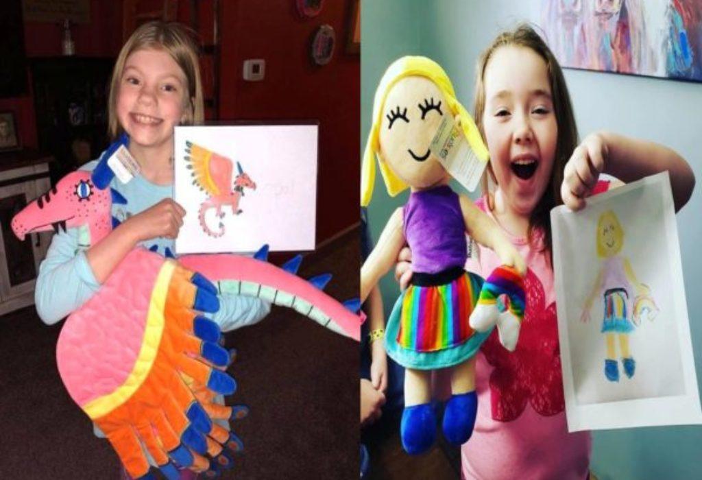 (FOTO)Crtež vašeg deteta pretvaraju u lutku