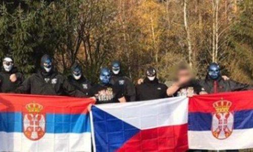 """(VIDEO)Češki navijači : """"Kosovo je Srbija"""". Povređeni Albanci navijači tkz.Kosova"""