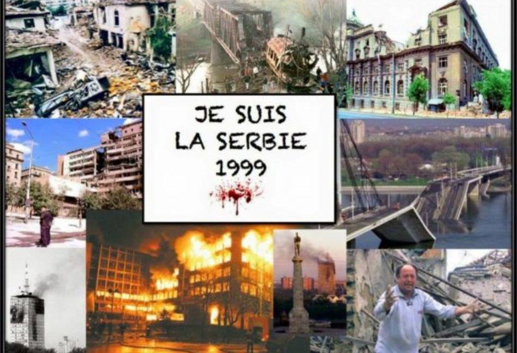 C'était un «acte d'agression», l'intervention de l'Otan en Serbie