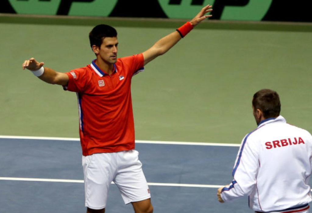 Djokovic jouera pour la Serbie contre la France