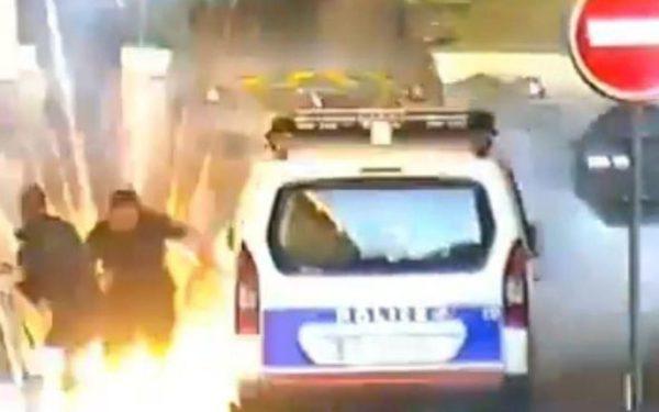 Francuska : Procureo snimak napada na policiju