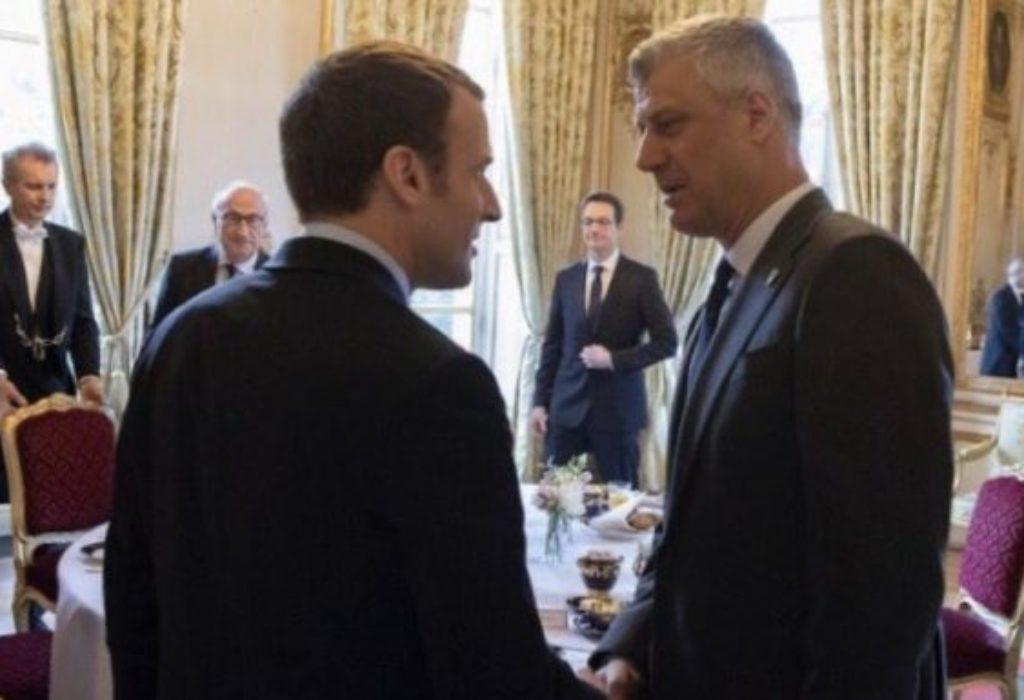 (FOTO)Makron primio Tačija u Parizu. Tači očekuje ovo od Francuske