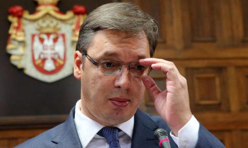 """Le président serbe doit lever le pied, mais il va """"un peu mieux"""""""