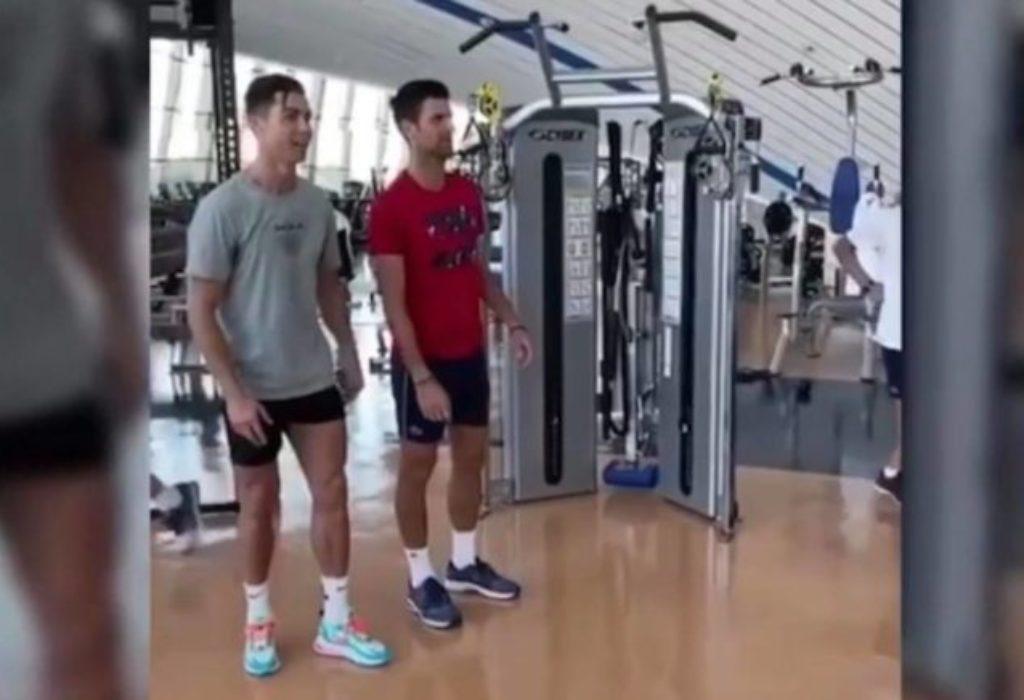 (VIDEO) Đoković i Ronaldo treniraju zajedno