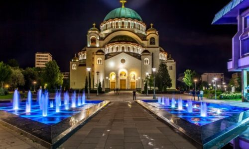 Serbie : Merveilleuse église Saint Sava de Belgrade