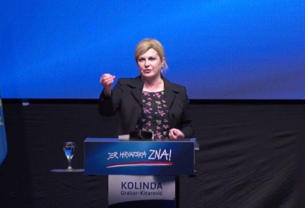 (VIDEO)Hrvatska predsednica u svom stilu. Kolindino obećanje «preko interneta»
