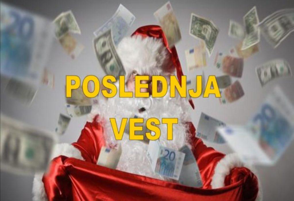 (FOTO)Opljačkao banku pa delio prolaznicima novac uz povike «Srećan Božić»