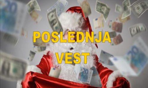 """(FOTO)Opljačkao banku pa delio prolaznicima novac uz povike """"Srećan Božić"""""""
