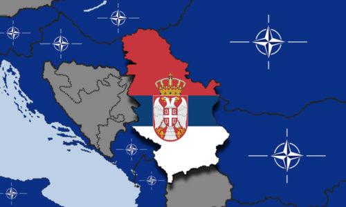 Obtenir la Serbie, c'est les rêves de l'Otan