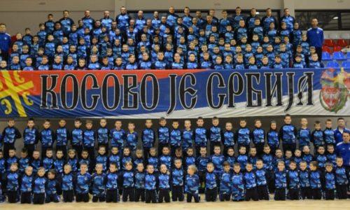 Maleni sportisti iz Kosovske Mitrovice poslali poruku za novogodišnje praznike