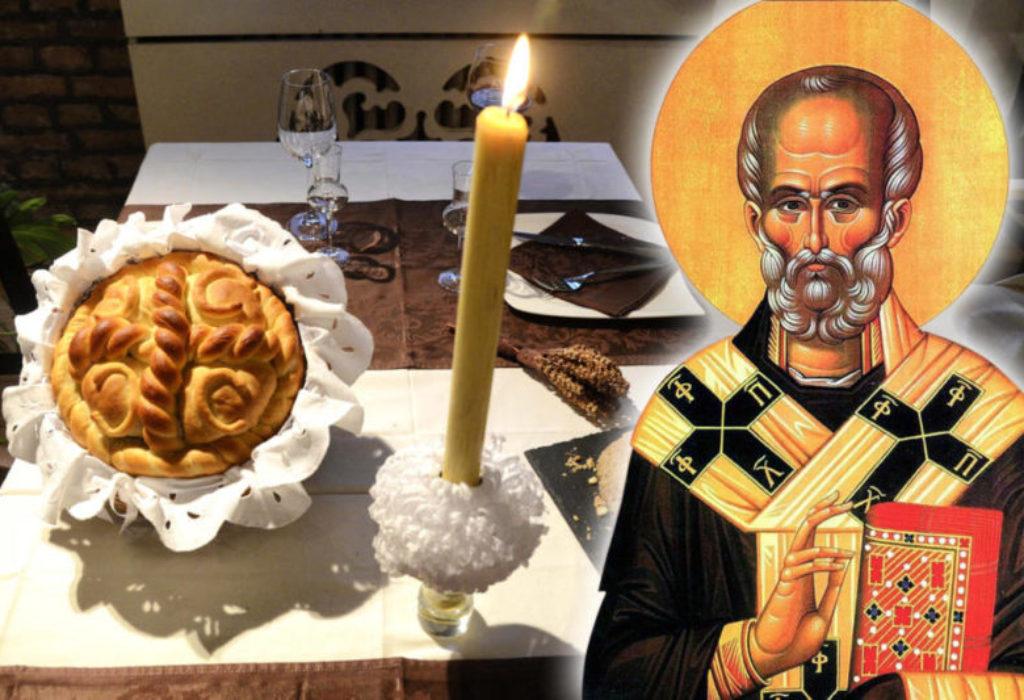 «SLAVA» chez les Serbes. Saint Nicolas le 19.décembre