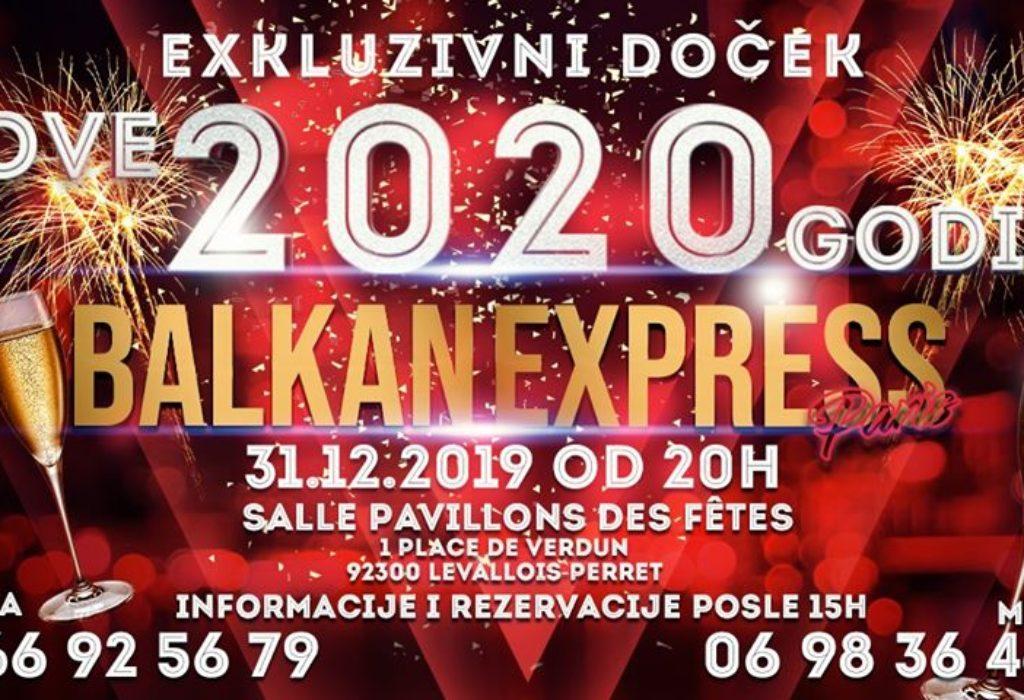 Dočekajte Novu 2020.godinu uz bogat meni i srpske specijalitete. Muzika – bend «Balkan expres»