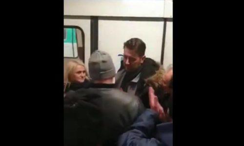 (VIDEO) Štrajkači protiv šofera koji rade i ne žele da štrajkuju