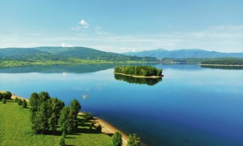 (VIDEO) SERBIE : Rare phénomène naturel, îles flottantes du lac Vlasina