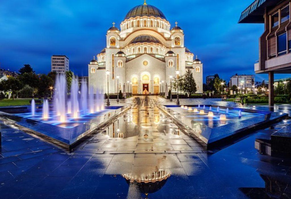 Aujourd'hui c'est «Saint Sava de Serbie»