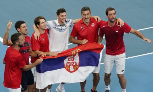 ATP Cup : LA SERBIE EST LA MEILLEURE AU MONDE
