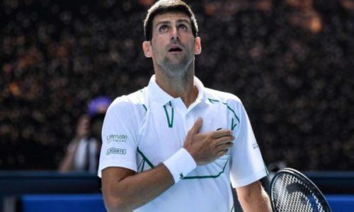 """Djokovic : """"Je suis vraiment reconnaissant"""""""