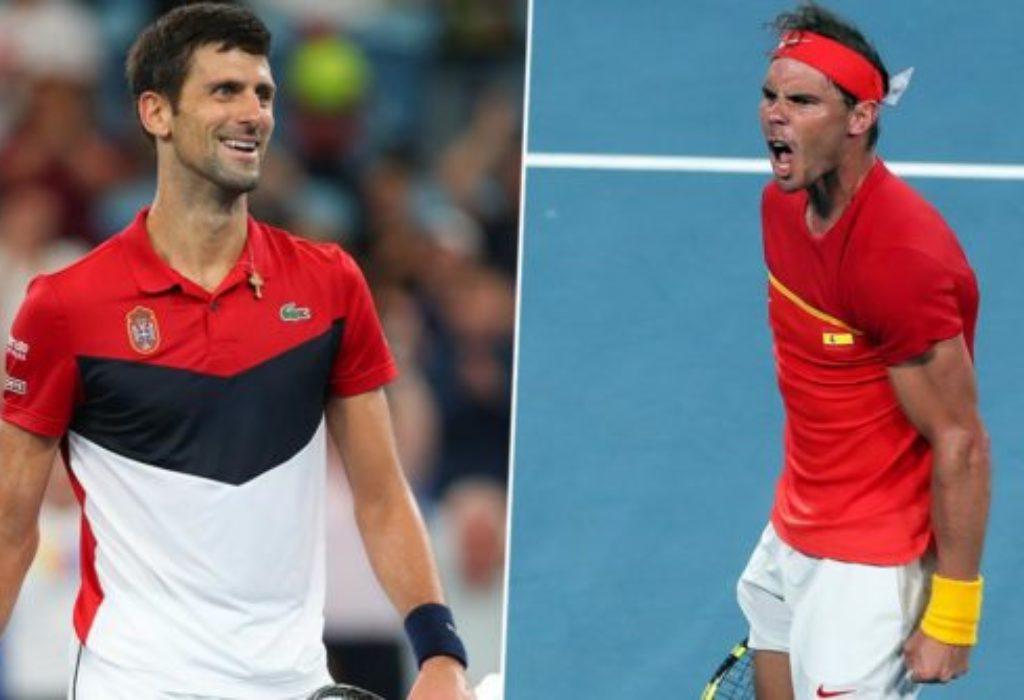 ATP Cup : Novak Djokovic domine Rafael Nadal. L'Espagnol se plaint du public serbe