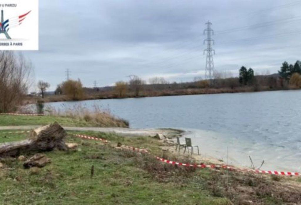 (VIDEO)Na ovom jezeru će se po prvi put u Francuskoj plivati za Časni krst