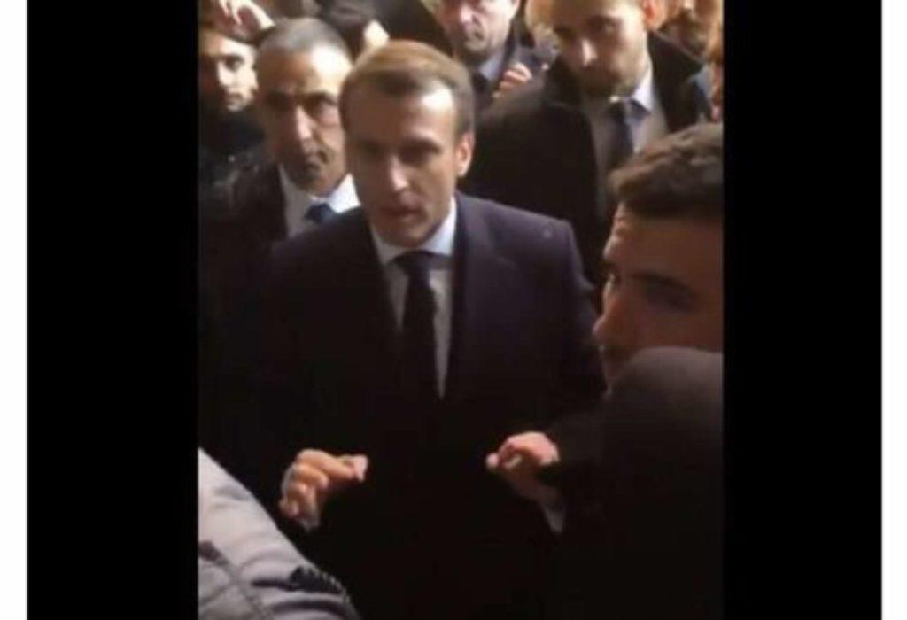 (VIDEO)SKANDAL. Makron policajcima : «Izađite napolje»