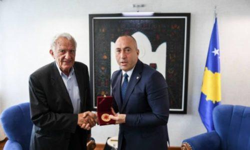 (FOTO)Voker na Kosovu dobio medalju «Skenderbega»