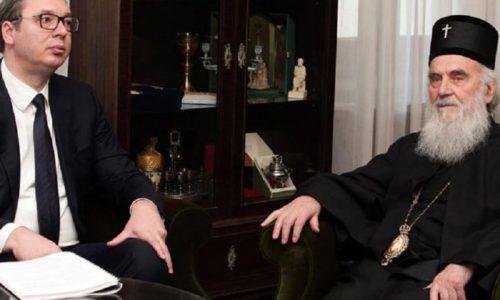 Le patriarche et le président de Serbie tête-à-tête suite à la situation au Monténégro