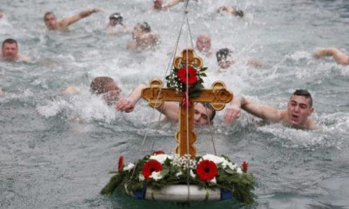 Po prvi put u Francuskoj. PLIVANJE NA BOGOJAVLJENJE ZA ČASNI KRST
