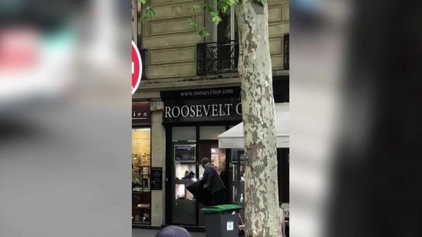 (VIDEO)PARIZ : Pljačka koja je obeležila godinu