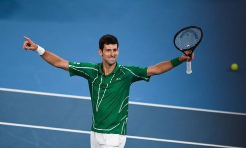 "(VIDEO)""LE ROI"" SERBE S'APPELLE NOVAK DJOKOVIC"