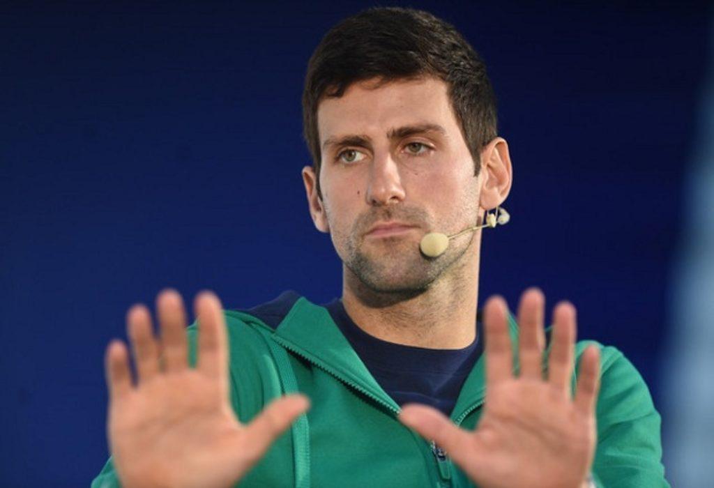 (VIDEO)Novak Djokovic impressionne. Je n'aime pas ces histoires «La Serbie contre le monde»