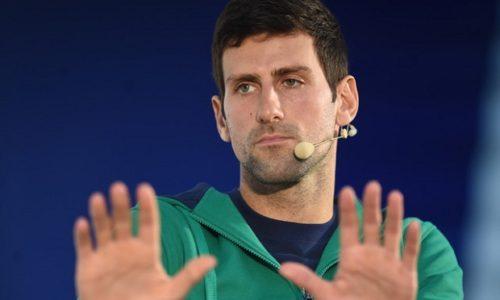 """(VIDEO)Novak Djokovic impressionne. Je n'aime pas ces histoires """"La Serbie contre le monde"""""""