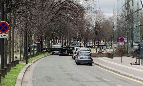 Pariz : TRAGEDIJA. Usled jakog vetra jedna žrtva i pet povređenih