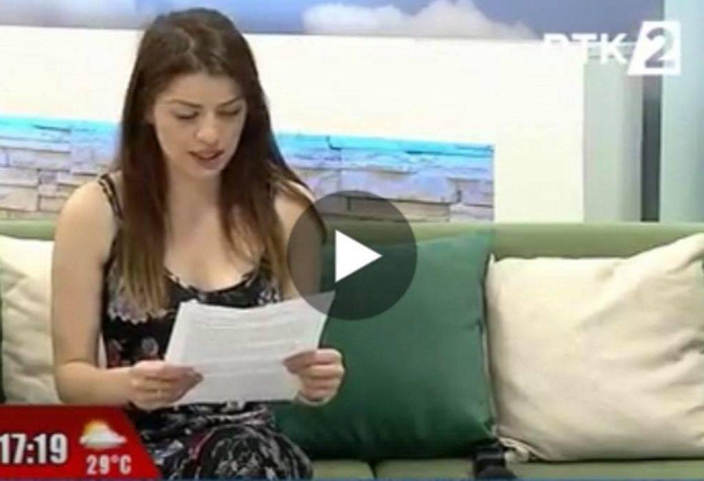 (VIDEO)SRPKINJA ODUŠEVILA recitacijom u centru Prištine