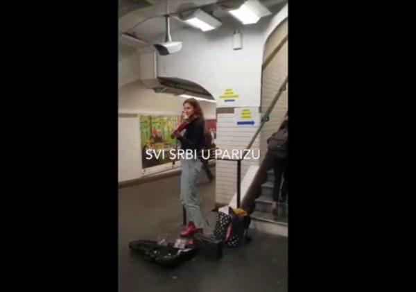 """(VIDEO)Pariz : Danas """"najskuplja srpska pesma"""" odzvanja na najvećoj železničkoj stanici na svetu"""