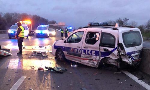 (FOTO)Francuska : Stravičan udes na A15 zbog vožnje u kontra smeru