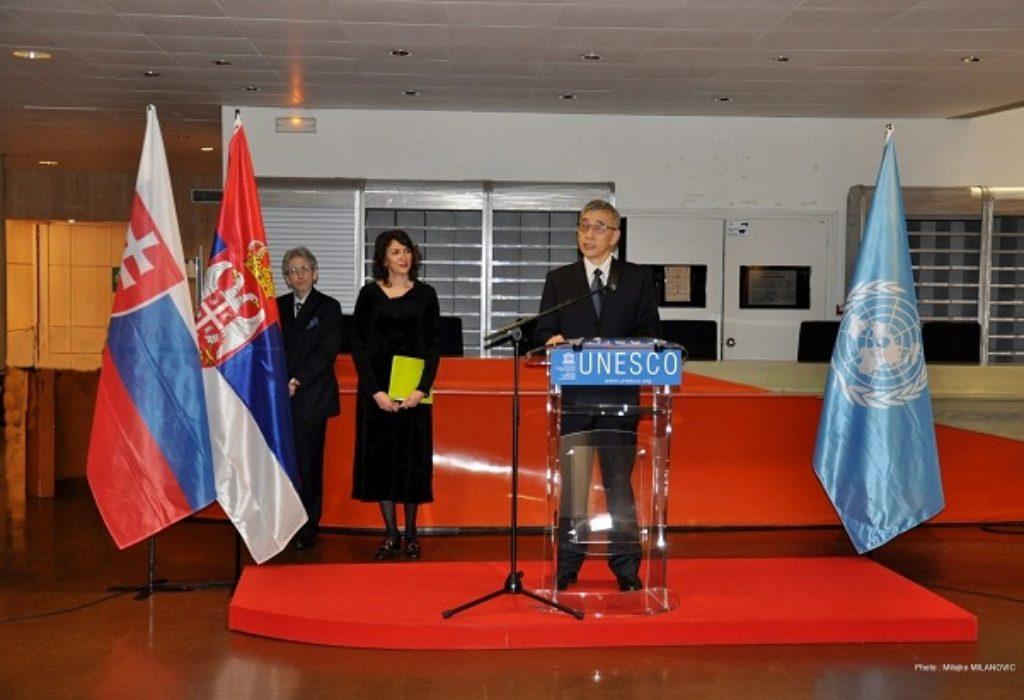 (FOTO)Velika čast za Srbiju. U sedištu Uneska obeležen «Dan maternjeg jezika»