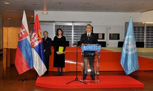 """(FOTO)Velika čast za Srbiju. U sedištu Uneska obeležen """"Dan maternjeg jezika"""""""