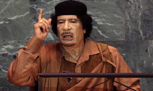 (VIDEO)GADAFI 2009. PREDVIDEO SVE GOVOROM U UN