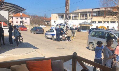 (FOTO)Uhapšena starica u Lebanu jer je boravila napolju