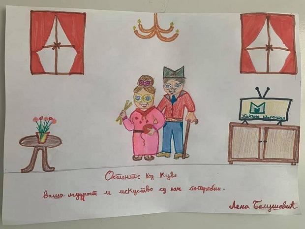 (FOTO)Pismo učenice 3.razreda i podrška svim Srbima u Francuskoj